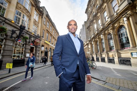 Marvin Rees, the Mayor of Bristol