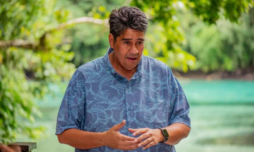 The President of Palau, Surangel Whipps Jr