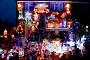 Christmas cheer in Hove, East Sussex
