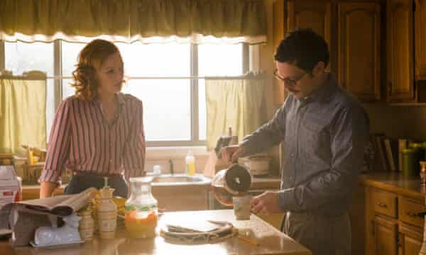 Kerry Bishé as Donna Clark and Scoot McNairy as Gordon Clark.