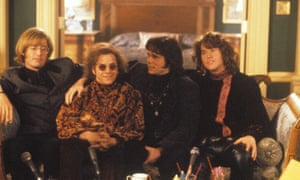 Kyle Maclachlan, Frank Whaley, Kevin Dillon and Val Kilmer in Oliver Stone's The Doors.