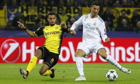Cristiano Ronaldo and Gareth Bale score as Real Madrid beat Borussia Dortmund
