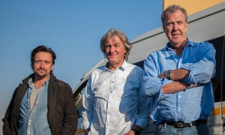 Richard Hammond, James May and Jeremy Clarkson on The Grand Tour.
