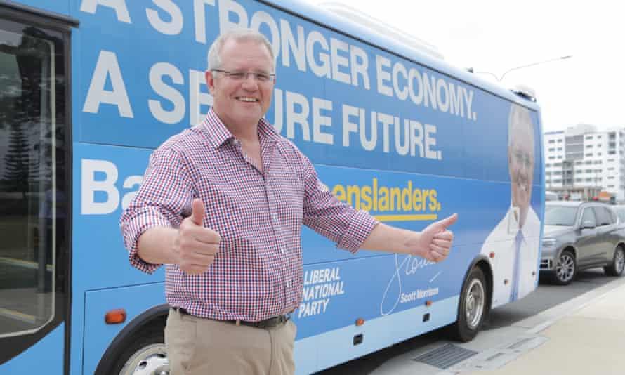 Scott Morrison campaigning in Queensland, 5 November 5 2018