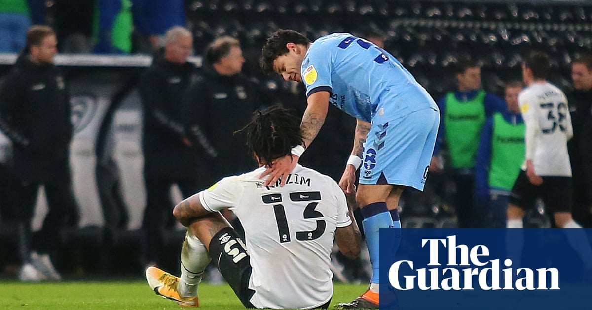 Championship roundup: Rooney denied first Derby win by late Coventry leveller