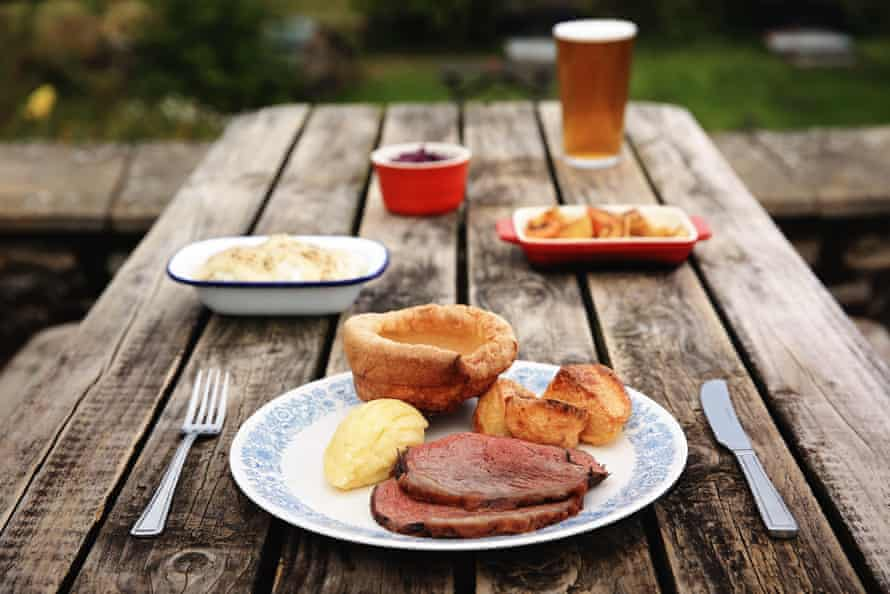 The George & Dragon, Hudswell: a community hub with belting ales and grub.