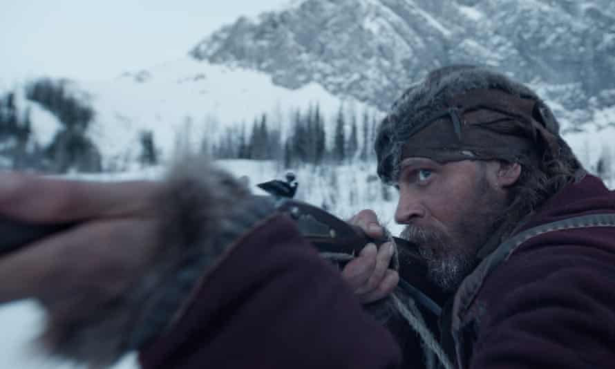 Thriller The Revenant opens in the US in January.