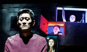 London Kim, Crystal Yu, Jon Chew and Momo Yeung in Wild Goose Dreams.