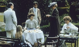 Rosemary Leach, right, as Mrs Honeychurch in A Room With a View, 1985.
