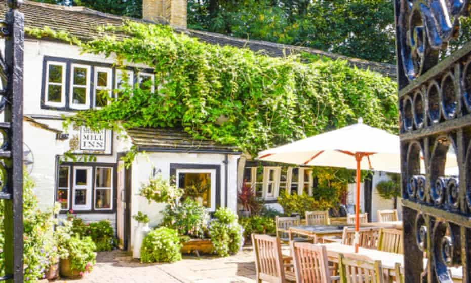 Crowd-pleaser: the Shibden Mill Inn
