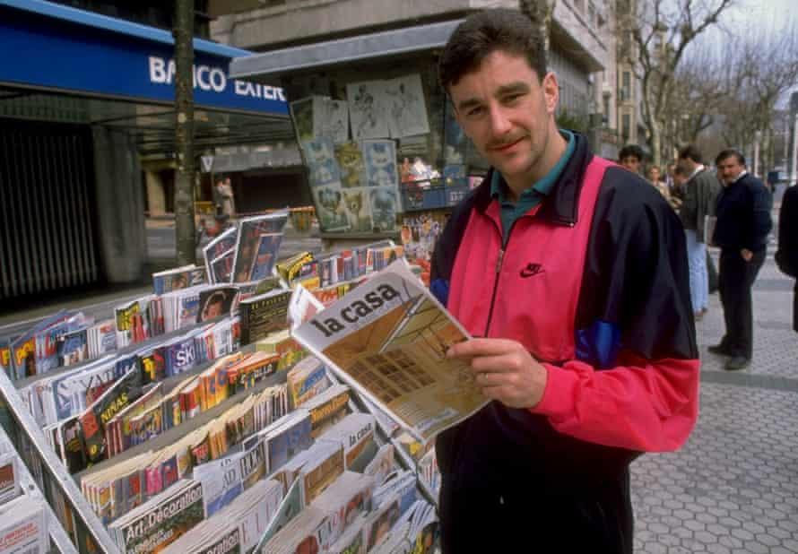 Aldo back in February 1990.