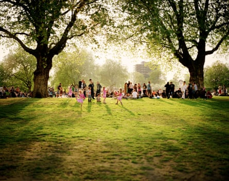 Fairies, London Fields, 2001 by Nick Waplington