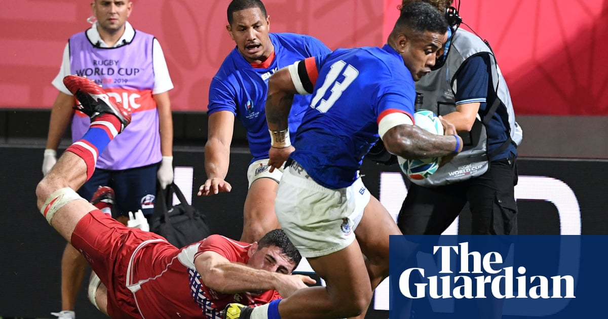 Motivated Samoa could punish Scotland for wading into tackle row | Andy Bull