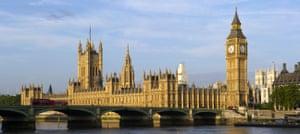 United Kingdom, London, Westminster, Westminster bridge, Houses of Parliament, Big Ben, Thames view