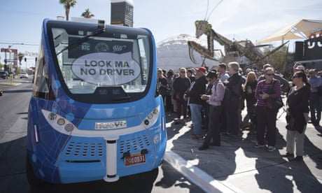 Self-driving bus involved in crash less than two hours after Las Vegas launch