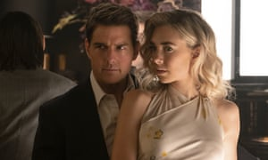 Tom Cruise with Vanessa Kirby in Mission: Impossible – Fallout.