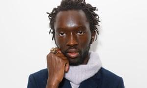 Model and poet Wilson Oryema.