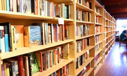 Dudley's Bookshop Cafe in Bend, Oregon.