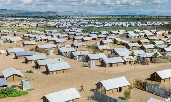 They call him the millionaire': the refugee who turned his camp into