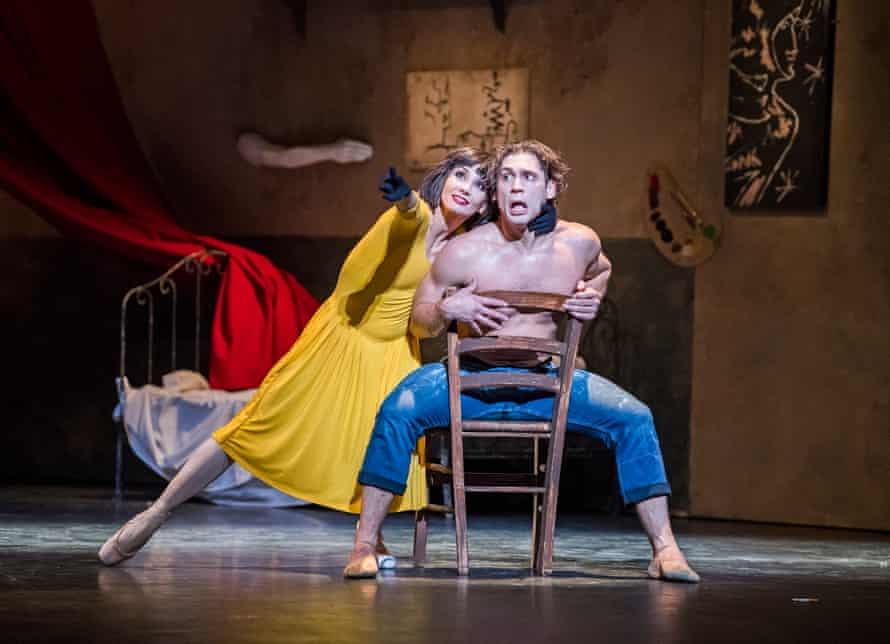 Rojo and Vasiliev in Le Jeune Homme et la Mort.