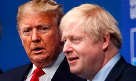 Donald Trump and Boris Johnson