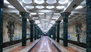 Gafur Qulom station, named after an Uzbek intellectual