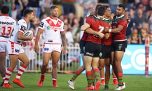 St George v South Sydney, NRL Charity Shield