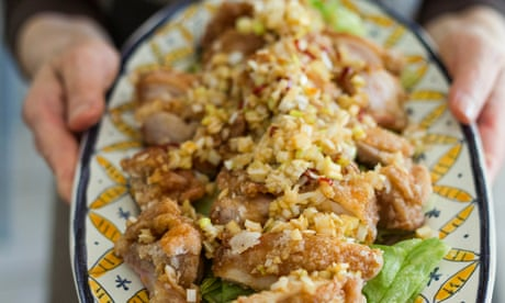 Harumi Kurihara's nostalgic chicken with leeks recipe