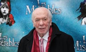 The lyricist Herbert Kretzmer, pictured here in 2014, has died aged 95