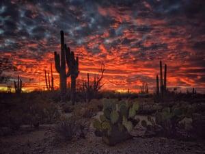 Joseph Cyr Tucson, Arizona won third place for sunset