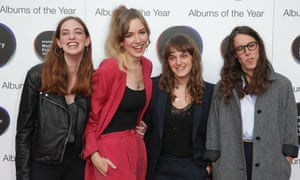 Juliette Jackson, Soph Nathann, Celia Archer and Fern Ford of the band The Big Moon.