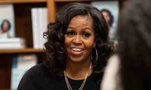 Michelle Obama in Becoming.