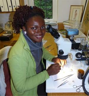 Nigerian conservationist Iroro Tanshi