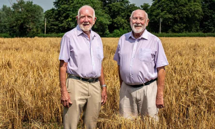 Neil Richardson (right) with John Jemison.