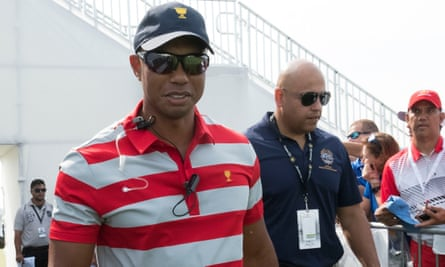Tiger Woods, a US vice-captain for The Presidents Cup this week, is uncertain when he can return to playing.