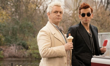 A lighter way to end the world … Good Omens in Amazon's recent dramatisation.