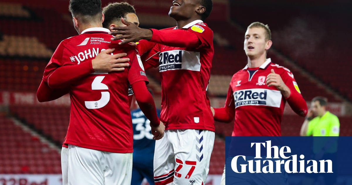 Championship roundup: Derby rooted to bottom of table after Boro defeat - the guardian