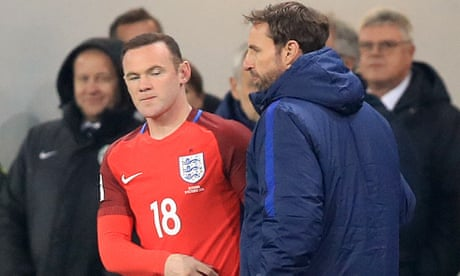 Gareth Southgate surprised by criticism over Wayne Rooney's England recall