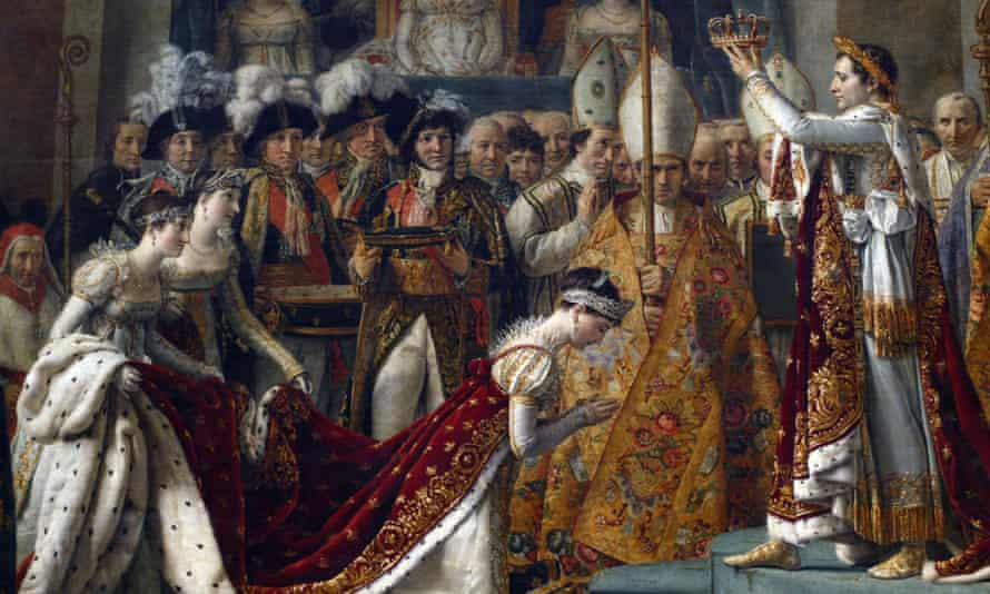 Coronation of Napoleon and Empress Josephine, 1804, by Jacques-Louis David.