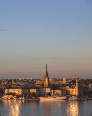 Dusk over Gamla Stan, Stockholm