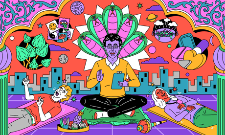 It makes me enjoy playing with the kids': is microdosing