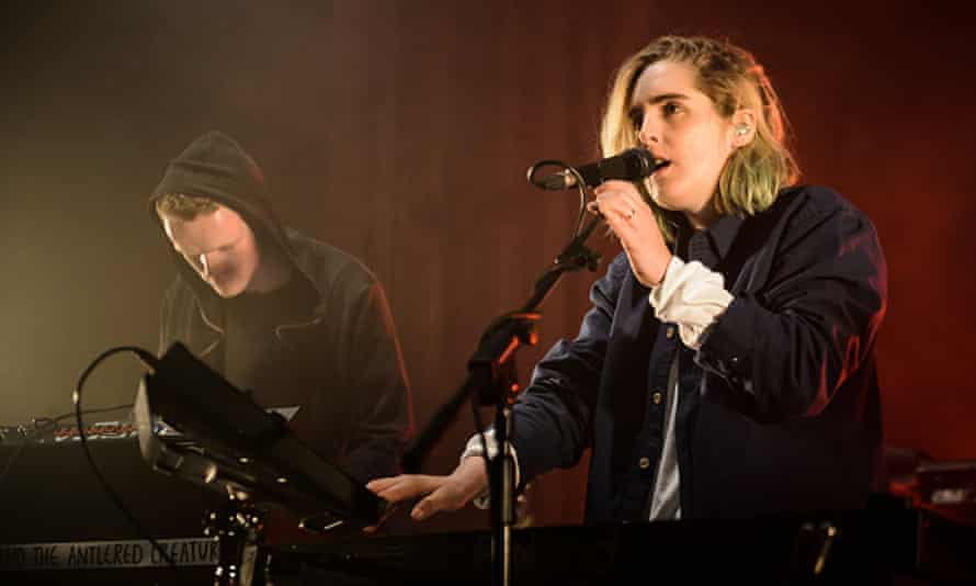 Shura performs at The Great Escape Festival in Brighton, May 2016.