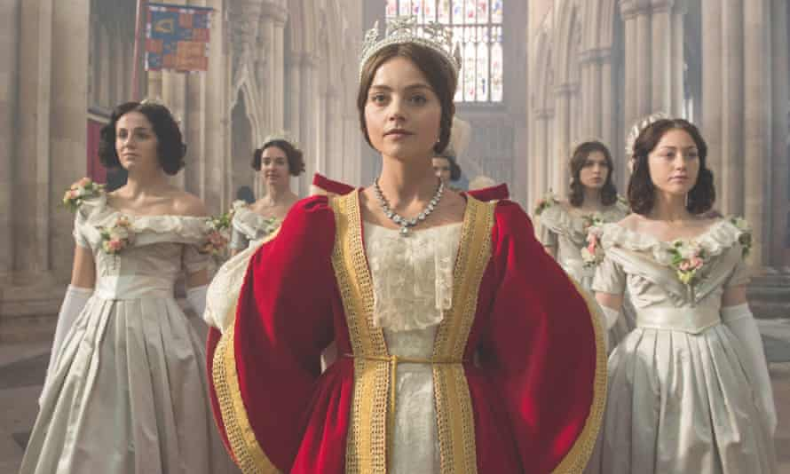 Jenna Coleman as the young Queen Victoria