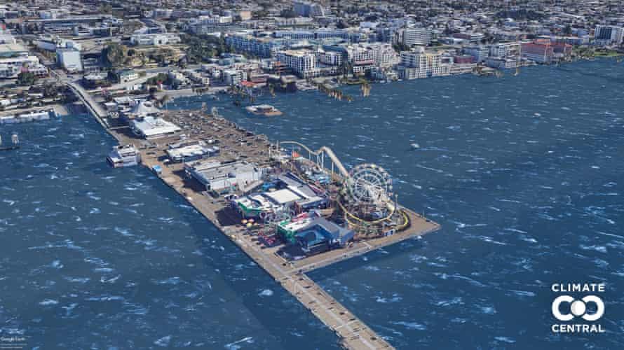 POF USA CA Santa Monica Santa Monica Pier L13 1p5C Unlabeled