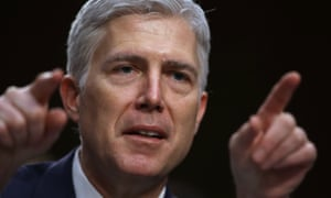 Judge Neil Gorsuch testifies during the third day of his Supreme Court confirmation hearing