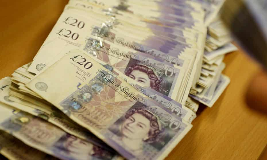 £20 notes