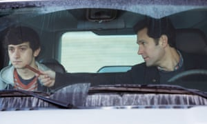 The Fundamentals of Caring - 2016No Merchandising. Editorial Use Only. No Book Cover Usage Mandatory Credit: Photo by Netflix/Everett/REX/Shutterstock (5733412b) Craig Roberts, Paul Rudd The Fundamentals of Caring - 2016