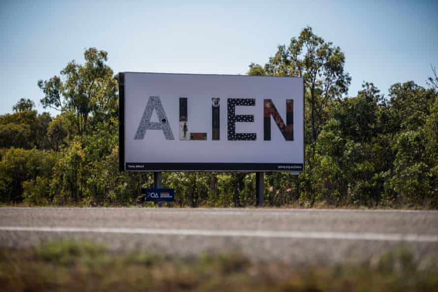 ALIEN by Tony Albert