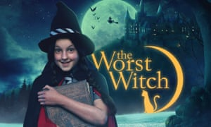 Bella Ramsey as Mildred Hubble in The Worst Witch.