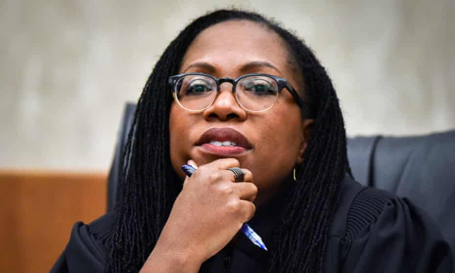 Judge Ketanji Brown Jackson, of the court of appeals for the DC district.